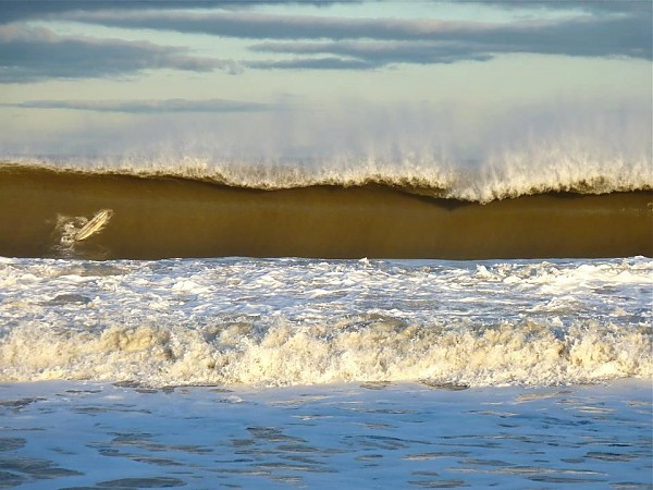 check the longboard! long branch 2/27/13. New Jersey, Empty Wave photo
