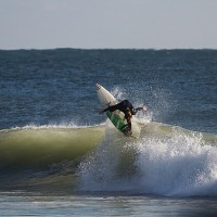 Off The Top Surfer-Justin Fritz. West Florida, Surfing photo