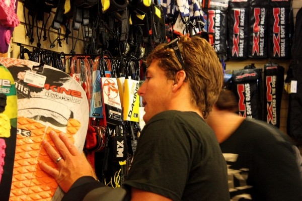 Andy Irons Shopping At K-coast. Delmarva, surfing photo