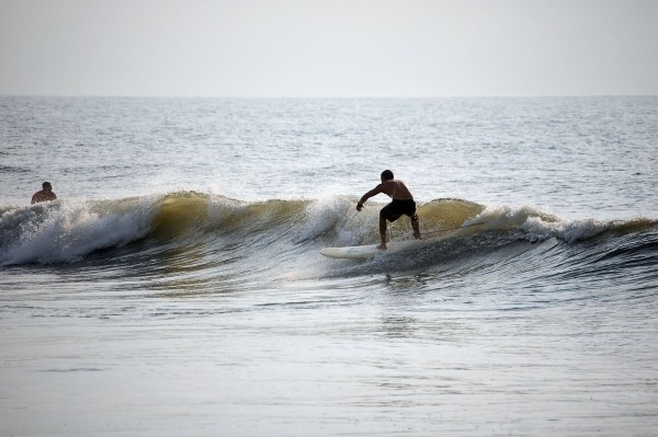 Kure Swell early morning swell. Southern NC, Surfing photo