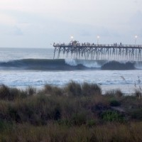 6am Swell Hurricane Bill Swell. Southern NC, Empty Wave photo