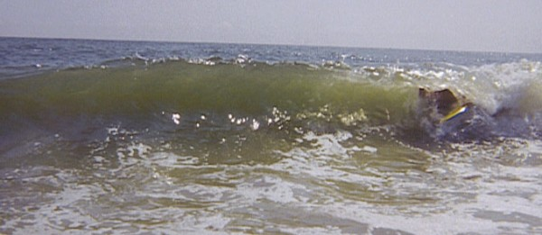 Summer barrel NJ. New Jersey, surfing photo