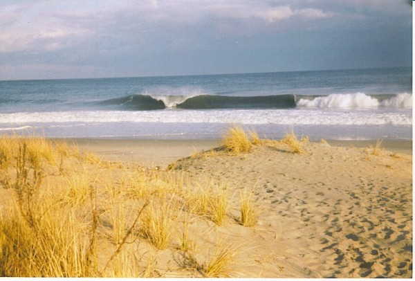 old MB. New Jersey, surfing photo