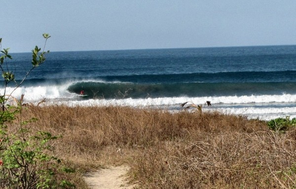 Morning Barrels-costa Rica This is what I saw my first