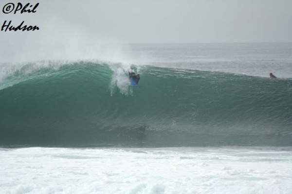 Clinton Munoz last winter. SoCal, surfing photo