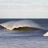 Empty A Frame. Northern New England, Empty Wave photo