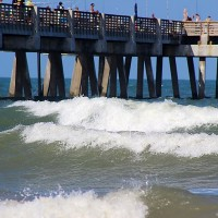 Jacksonville Beach Pier | Surf Core Late afternoon
