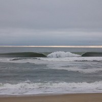 A-frame Buxton bombs....10-12-2013. Virginia Beach / OBX, Empty Wave photo