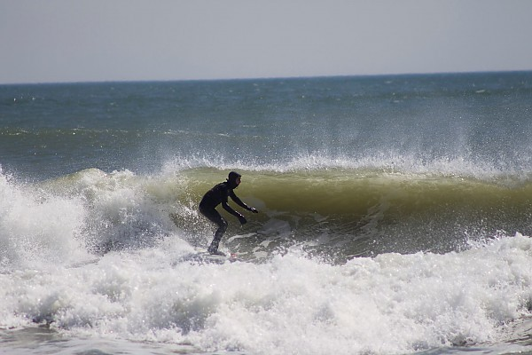 NJ April Surfing Surfing in New Jersey during April,