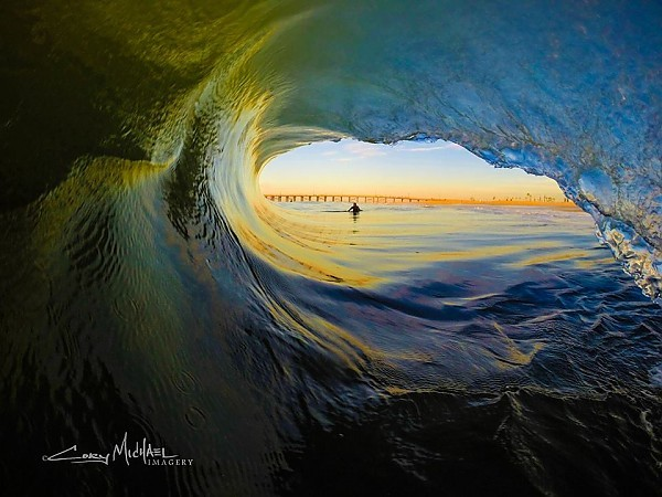 Smooth beauty. SoCal, Empty Wave photo