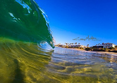 Clear blue slab. United States, Empty Wave photo