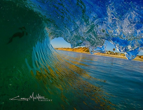 Drivers seat. SoCal, Empty Wave photo