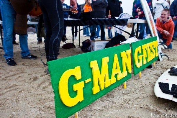 2nd Annual G-man Paddleout In memory of Greg T.Hickman.