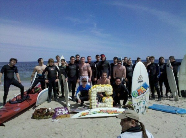 1st Annual Greg Hickman Paddle Out April 24th 2010