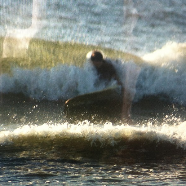 Gilgo beach surfing Long Island It was small but fun
