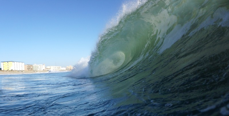 OCMD 111617. Delmarva, Empty Wave photo