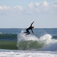 OCMD 100217. Delmarva, Surfing photo