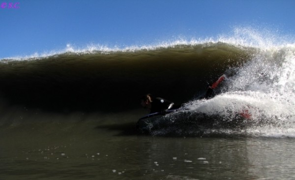 111710 Dave. Delmarva, Bodyboarding photo