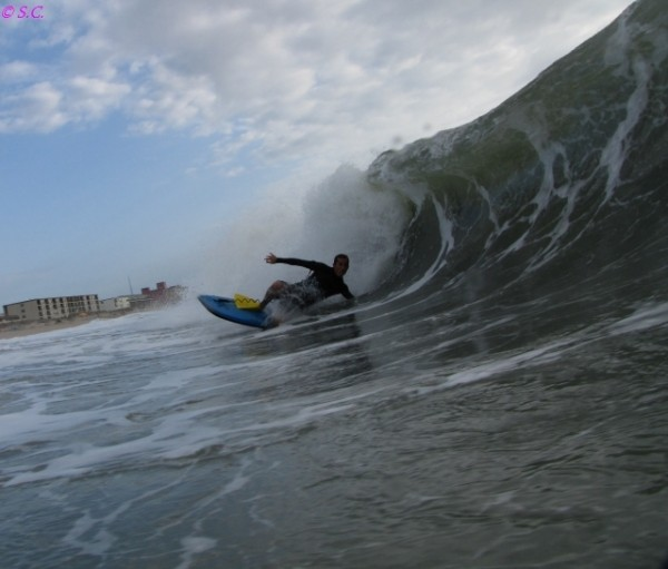 081510 Travis Oates. Delmarva, Bodyboarding photo