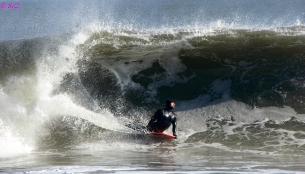 122110 Good power in this swell.. Delmarva, Bodyboarding photo
