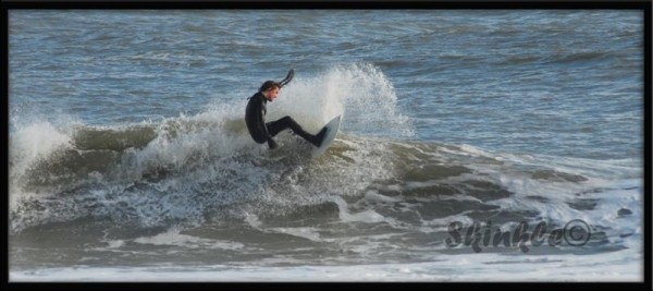 Thanksgiving midtown waves. Delmarva, surfing photo
