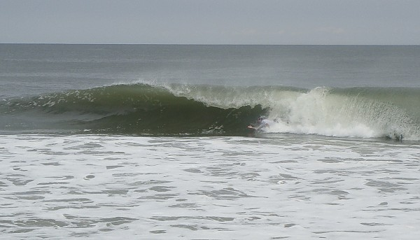 9/16/2012 - Body-surfing OCMD Waves were better without