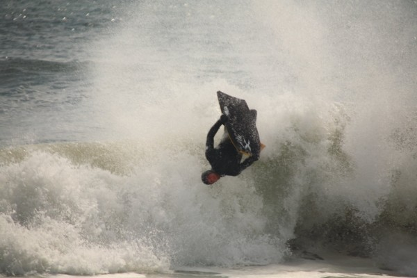 Jerz4408 Schlegel throwing a flip. New Jersey, surfing photo