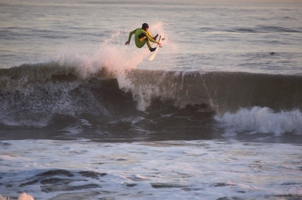 November Nor'easter Grommet boosting.. New York, surfing photo