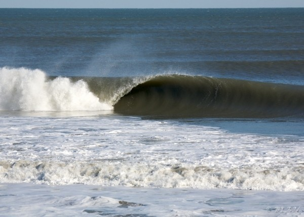 Obx End of December. Virginia Beach / OBX, Empty Wave photo