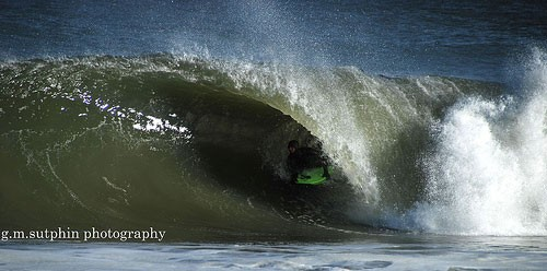 Josh Coffied - shacked Delaware doing its thing...