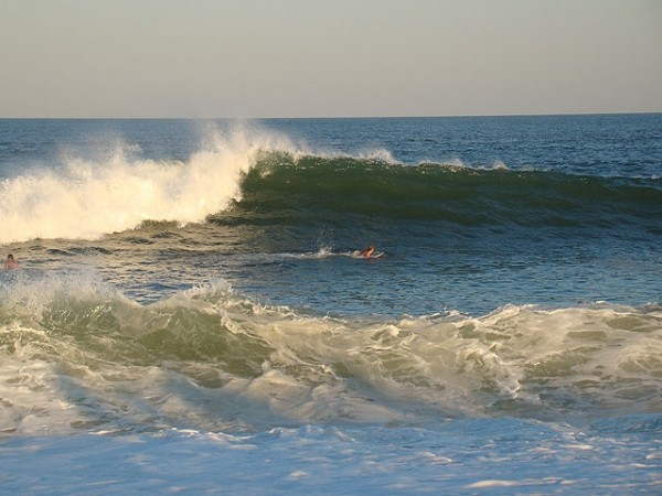 Labor Day 2008 - New Jersey Shorey First pulses of