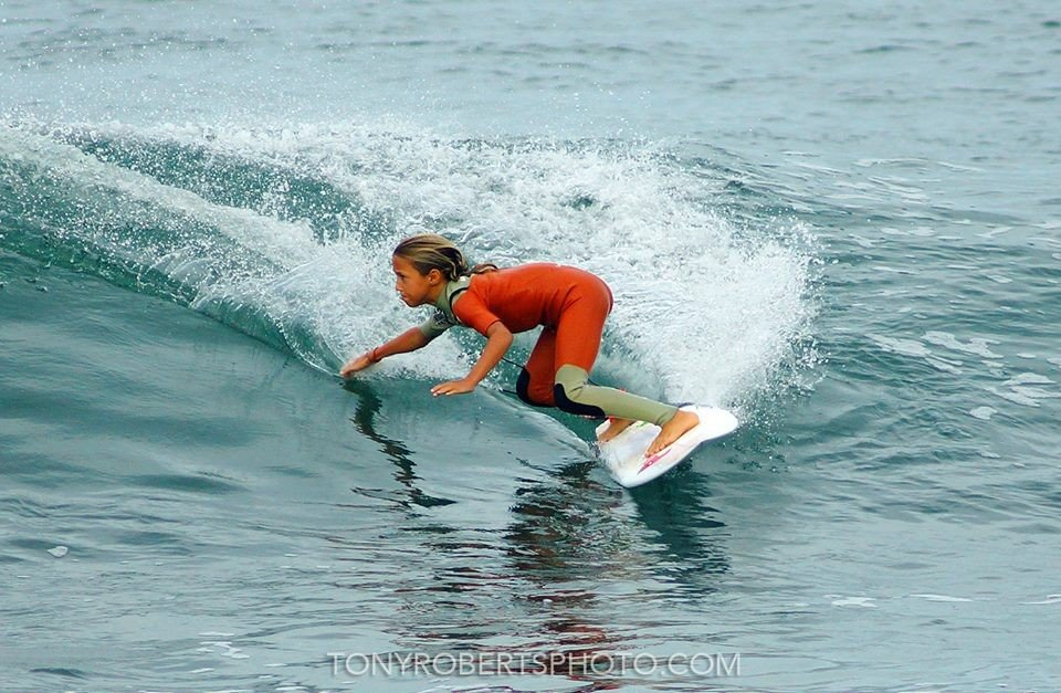 9 year old Candelaria Resano, REAL speed, power and
