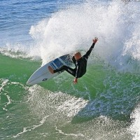 HB SURFING PHOTO'S Surfer: Jonathan DeBie, Cut Back