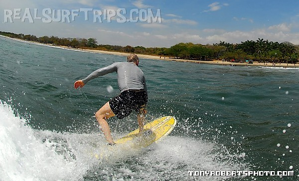 Grinder Learn to surf in Costa Rica! Visit us at www.realsurftrips.com