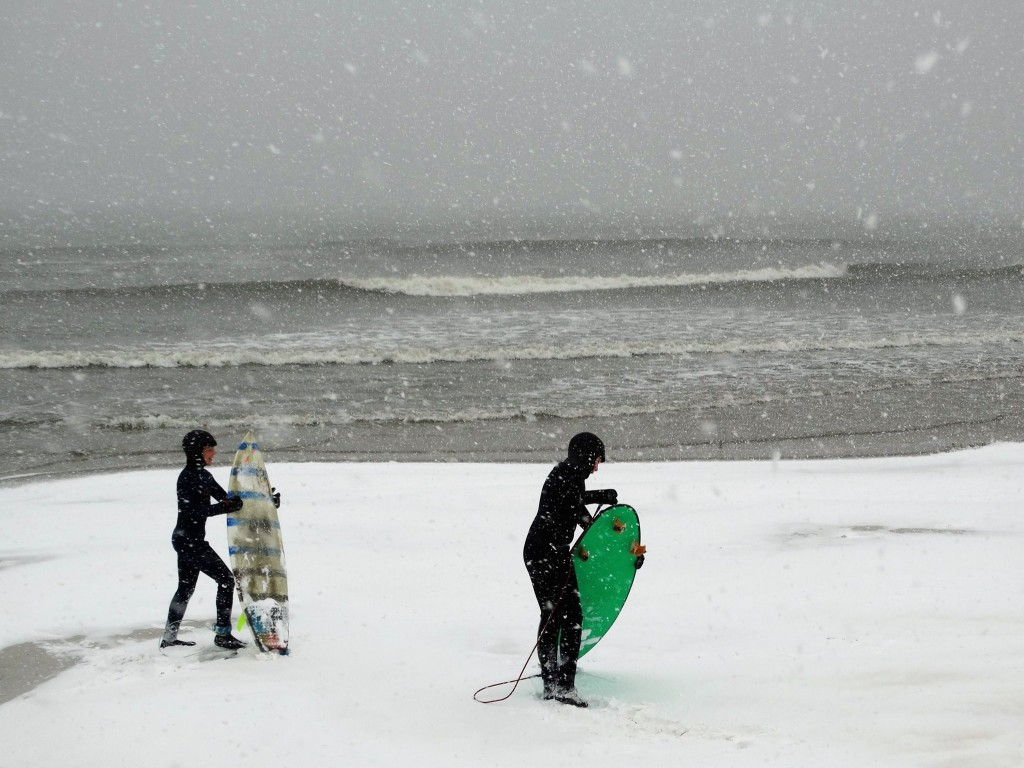 Little buddies.. New Jersey, Surfing photo