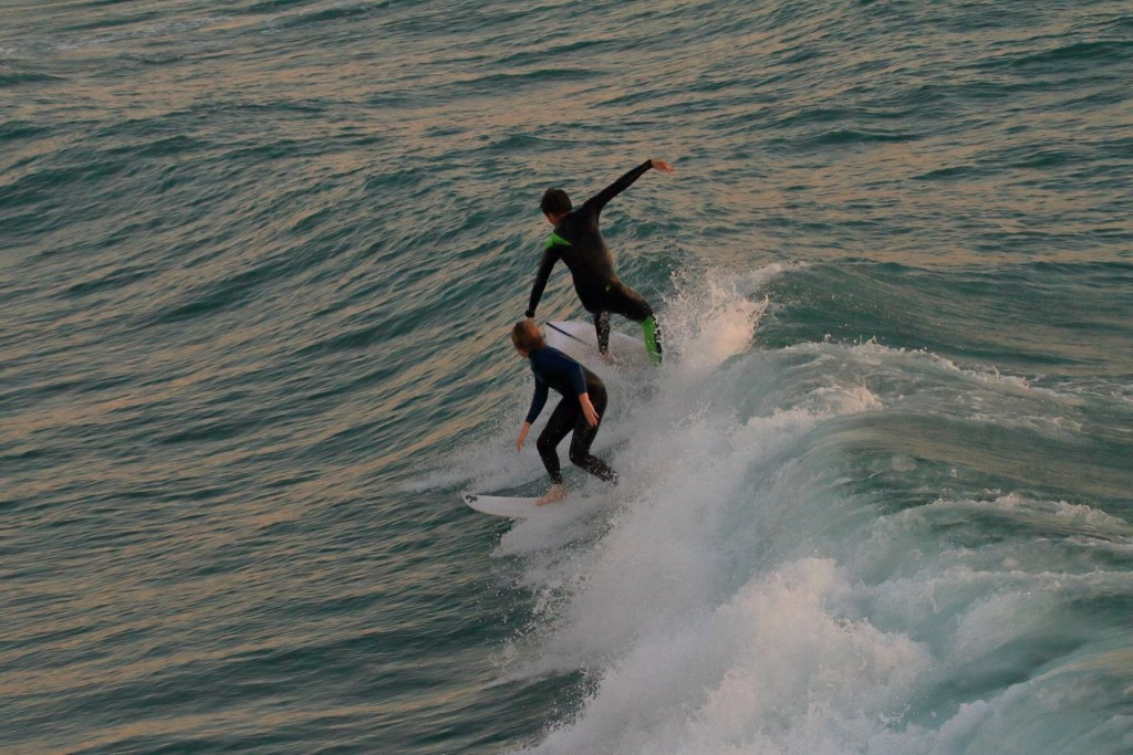 Brothers. SoCal, surfing photo