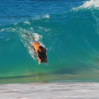 Sandy Beach, Oahu. Oahu, surfing photo