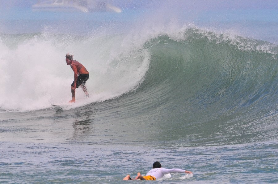 Bowls. Oahu, surfing photo