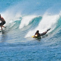 Kewalos, Oahu. Oahu, surfing photo