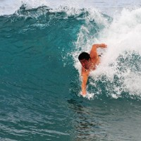 Pt. Panic. Oahu, surfing photo