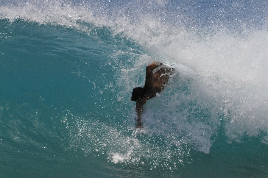 Pt. Panic, Oahu. Oahu, surfing photo