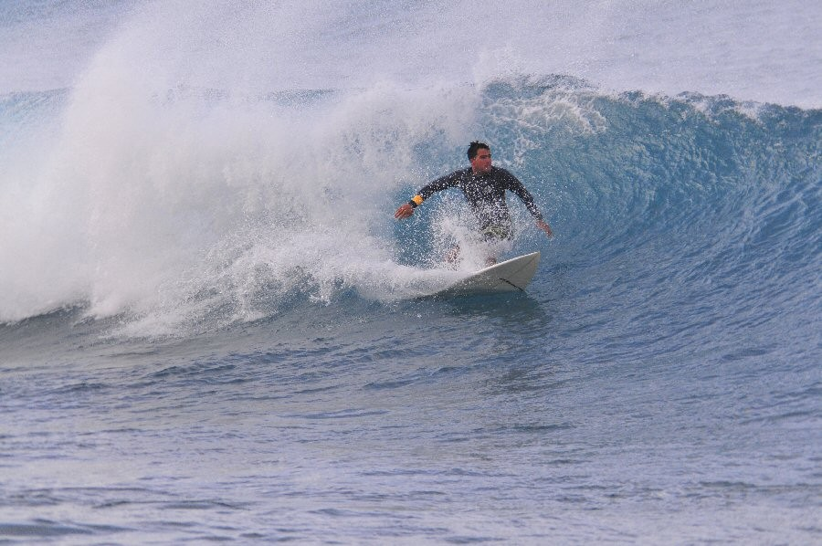 Kewalos. Oahu, surfing photo