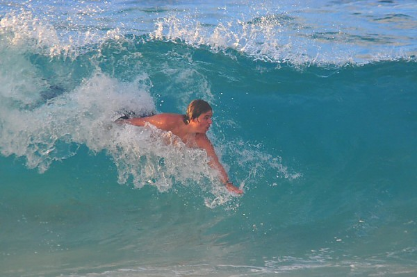 Sandy Beach, Oahu Tuesday, September 2, 2014. United States, surfing photo