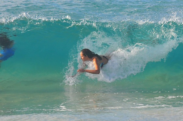 Sandy Beach, Oahu. United States, surfing photo
