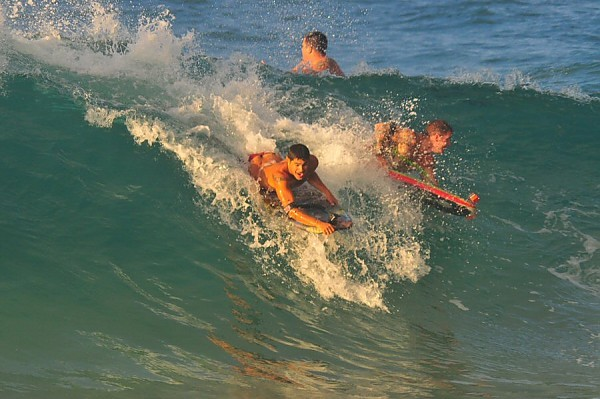 Sandy Beach, Oahu Saturday, August 2, 2014. United States, Bodyboarding photo