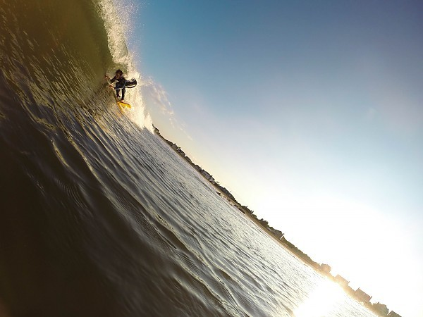 Just fitting in. United States, Surfing photo