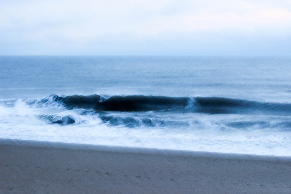 Early morning speed blur. United States, Empty Wave photo