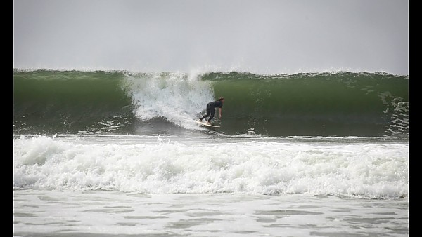 image Pre barrel.. United States, Surfing photo