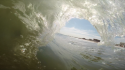 Shacked Shot on GoPro. United States, Empty Wave photo