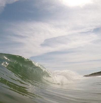 Montauk Barrels Glassy Day in Ny